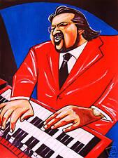 JOEY DeFRANCESCO PRINT poster jazz hammond B-3 organ incredible cd jimmy smith