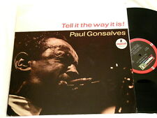 PAUL GONSALVES Tell It The Way It Is Ray Nance RVG LP Walter Bishop Jr.