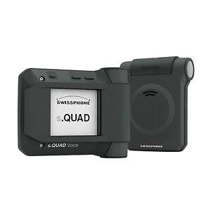 Swissphone s.QUAD voice MK - Funkterminal BOS im Set mit Ladegerät FME Mehrkanal