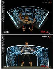 1/12comicave TOYS-BOX 6'' pass type SHF iron man Toni scene debugging table