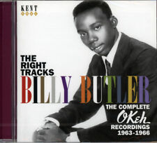 "BILLY BUTLER  ""THE RIGHT TRACKS - THE COMPLETE OKEH RECORDINGS 1963-1966""  CD"