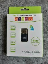 USB WIRELESS WIFI NANO 11AC ADAPTER 2.4+5.8Ghz