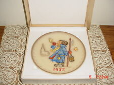"Hummel Goebel ""1972"" Collector Plate/Box/Hum265/W Germany/Hand Painted/Free Ship"
