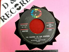 AARON NEVILLE~ I'M WAITIN AT THE STATION~ VG++~HOW MANY TIMES~ PROMO ~ SOUL 45