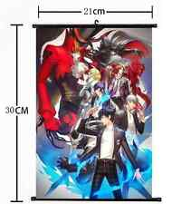 1180 Hot Japan Anime P4G PERSONA 5 The Golden Wall Scroll Poster cosplay A