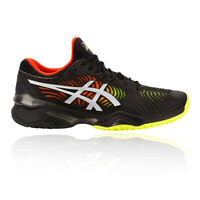 Asics Mens Court FF Tennis Shoes Black Sports Breathable Lightweight