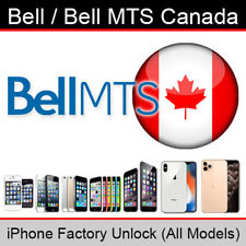 Bell MTS Canada iPhone Factory Unlocking Service (All Models Supported)