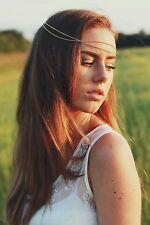 Gold Head Chain Hair Jewellery Headpiece Hairband Bridal Accesories, headband