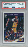 2018-19 Donruss Optic LeBron James #94 Los Angeles Lakers PSA 10