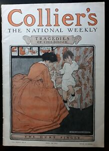 Jessie Willcox Smith Cover Art Collier's Weekly 4/28 1906 Full Issue