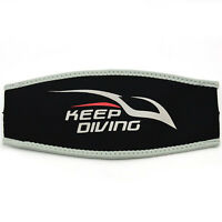 Hair Scuba Diving Snorkel Neoprene Cover Padded Protection Dive Mask Strap