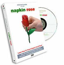 Michael Mode Presents Napkin Rose DVD + 7 Napkins (DVD, 2004) LIKE NEW