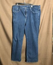 Blue Sonoma Relaxed Fit Jeans W42 L30 Cotten Blend