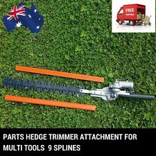 9 T HEDGE TRIMMER ATTACHMENT POLE LAWN BRUSH CUTTER WHIPPER SNIPPER MULTI TOOL