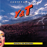 Y&T • Earthshaker CD 1981 Music On CD Holland 2016 •• NEW ••
