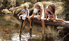 A World For Our Children  Steve Hanks  886/999  Limited Edition Print  Very Rare