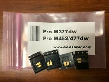 4 x Toner Chip for HP Color Pro M377 M452 M477 (CF410A - CF413A) Refill