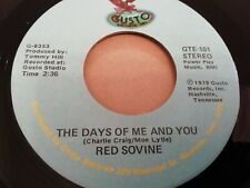 "RED SOVINE * COLORADO COOL AID / THE DAYS OF ME AND YOU  * 7"" SINGLE 1979 EX"