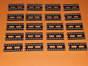 20x IC-Fassung 20-polig Präzisionsfassung / IC-Fassung / IC-Sockel DIL-20