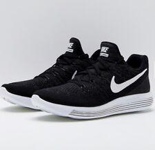 Nike lunarepic basso Flyknit 2 scarpa da corsa 863779-001 Nero UK7.5/EU42/US8.5