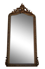 19th Century Gold Gilt Wall Mirror Pier Mirror