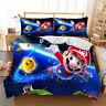 HD Mario Bros Duvet Cover Set Twin/Full/Queen/King Size Bedding Set Pillowcase