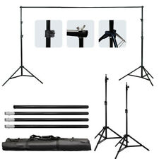 Kshioe 10Ft Adjustable Background Support Stand Photo Crossbar Kit Photography
