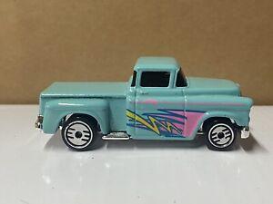 Vintage Hot Wheels '56 Flashsider Stepside Pick-Up Truck Turquoise MINT 1991