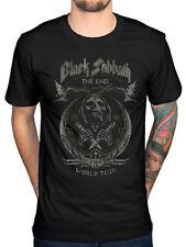 Official Black Sabbath The End Mushroom Cloud Skull Circle T-shirt Us Avenger 88