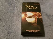 Before Sunset (2004) - Vhs Tape - Drama - Ethan Hawke - Julie Delpy - New