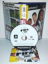 FIFA FOOTBALL 2003 03 3 CALCIO - Ps2 Playstation Play Station 2 Gioco Game