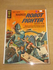 MAGNUS ROBOT FIGHTER #3 VG (4.0) GOLD KEY COMICS AUGUST 1963