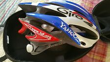 RARE GIRO Pneumo Cycling Helmet Lonestar Lance Armstrong Yahoo New Other W/Case