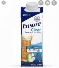 Ensure Clear Oral Supplement Apple 8 oz Carton Abbott 24 Ct