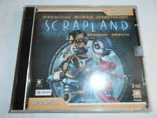 American Mcgee Scrapland PC Game Rare Russian Version NEW Sealed!!! 2CD-ROM