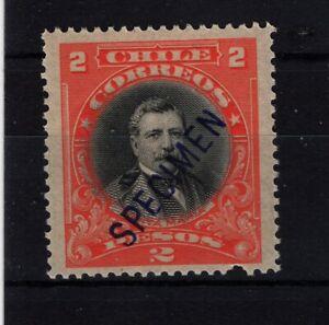 CHILE 1911 Presidents American Bank Note Santa Maria MNH SPECIMEN