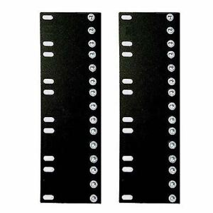 """5U Adapter Pair, Reduce Rack Width from 23"""" to 19"""", 10-32 tapped holes 34-200500"""