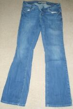 American Eagle Women Jean 8 R Artist Dark Wash Distressed/Destroyed R