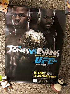 Official UFC 145 Fight Poster Jon Bones Jones Vs Suga Rashad Evans