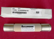 NEW Bussmann 5-5ABWNA1E, 5.5KV, H.R.C. Time Delay Cylindrical Fuse, 5500VAC