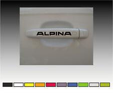 ALPINA  Premium Door Handle Decals Stickers