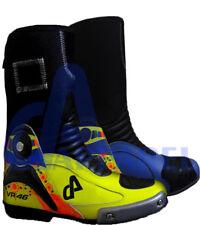 Vr 46 Valentino Rossi Moto Botas zapato de carreras hecho a medida