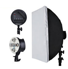 Photography 5in1 Bulb Socket Lamp Holder Adapter + 60*90cm Softbox Lighting Kit