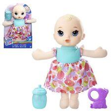 Baby Alive Lil 'DORME BIONDA bambola-nuovo in mano