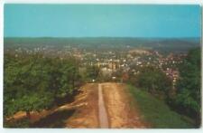 Huntington WV View fr Lions Lookout Tower 1960s Antique Chrome Postcard 25159