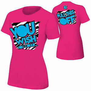 Dolph Ziggler You Wish You Could Pink Womens T-shirt