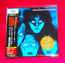 Kiss Creatures Of The Night JAPAN SHM MINI LP CD UICY-93524