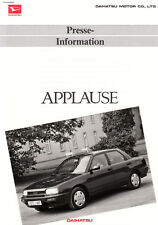 DAIHATSU APPLAUSE Limousine Presse Information 1989 51