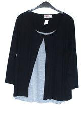 Damen-T-Shirts ohne Muster in Übergröße Größe