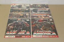 Captain America (2015) Comic Books #1-7 + #3 Variant - Lot of 8 VF/NM